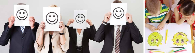 Psychologue et être heureux